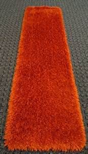 Orange Runner Rug Orange Shag Runner Rug Delux 32 In X 10 Ft Machine Made Rugs