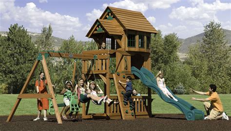 backyard treehouse playsets specs price release date
