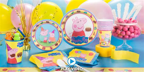 printable peppa pig party decorations peppa pig party supplies peppa pig birthday party city