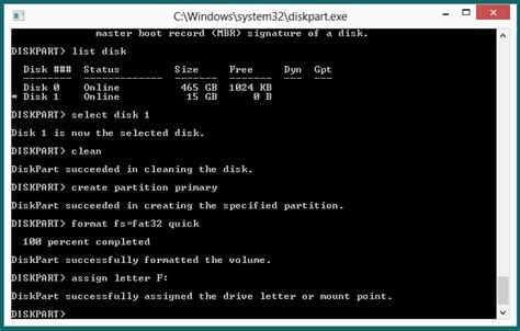 format command in diskpart windows was unable to complete the format how to fix