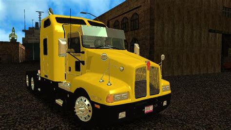 2016 kenworth t600 gta san andreas trucks mods and downloads gtainside com