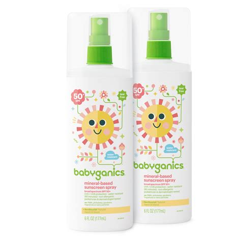 Baby Sun Block 100gr 2 babyganics mineral based sunscreen spf 50 6 oz pack of 2 packaging may vary
