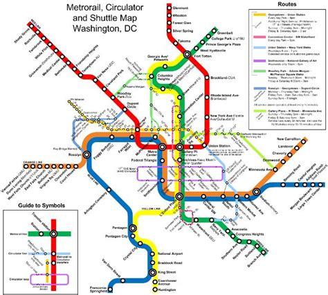 washington dc terminal map washington dc metro map gmu station gt south capitol