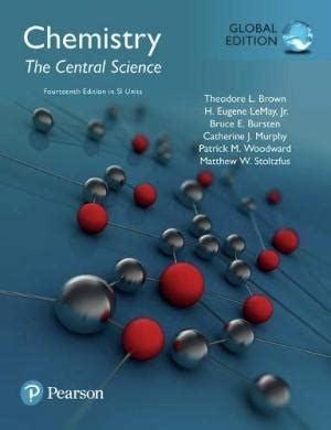9780134414232 Chemistry The Central Science 14th