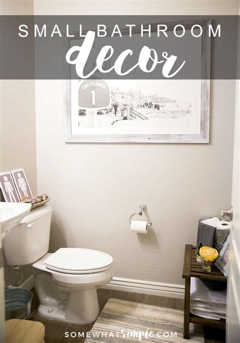 how to decorate a small bathroom decor ideas and tips