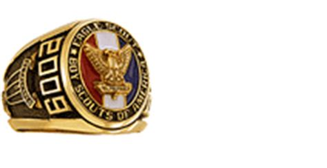 Cincin Eagle Scout Boy Scouts America Ring Band design your own jewelers
