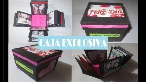 decorar regalos con fotos como hacer un regalo caja explosiva album de fotos