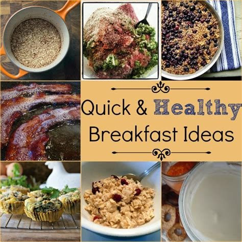 6 healthy breakfast tips for quick and healthy breakfast ideas tip tuesday natural family today