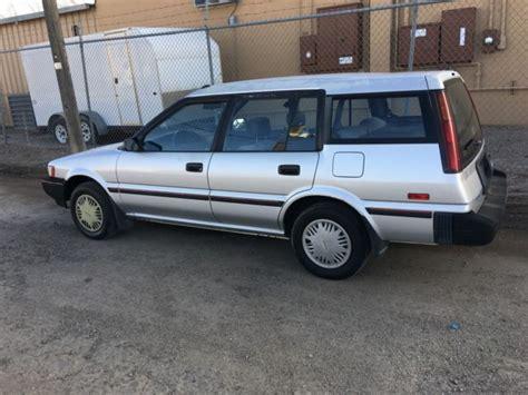 toyota awd wagon 1991 toyota corolla de wagon awd for sale toyota corolla