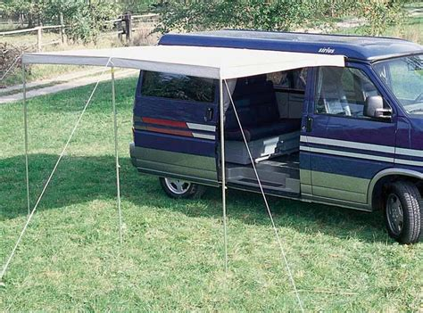 Camping Tent Awning Multi Rail Vwt5lr Black Pre Curved And Drilled 90157