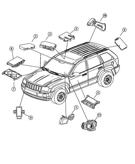 beach jeep accessories 2006 jeep commander receiver control module lab