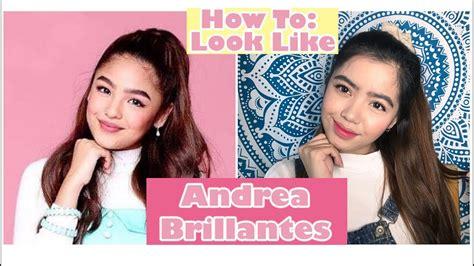 makeup tutorial tagalog andrea brillantes makeup tutorial tagalog youtube