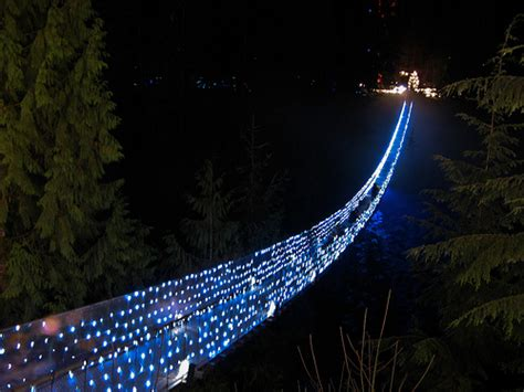 capilano suspension bridge christmas lights cheryl young