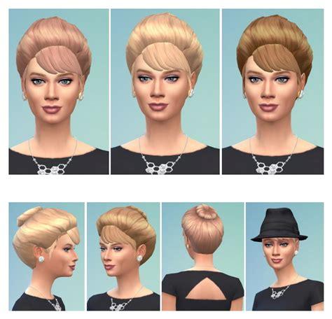 70s bun hairstyles 70s bun hair at birksches sims blog 187 sims 4 updates