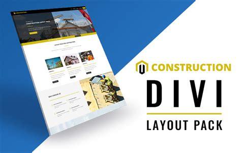 download layout divi free divi construction layout pack for contractors