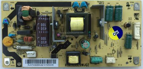 Tv Sharp Lc 32le340m Wh runtka929wjqz sharp lc 32le340m cpwbx503btp power board besleme kart箟 psu besleme