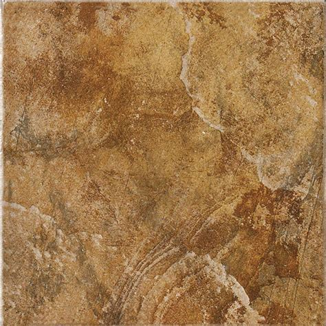 Marazzi Granite Marron 12 In Marazzi Imperial Slate 12 In X 12 In Ceramic Floor