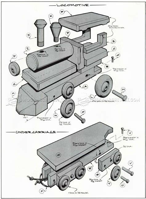 wooden toy train plans woodarchivist