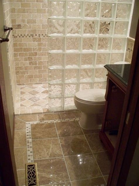 glass block showers small bathrooms interesting photos of glass block showers curbless and