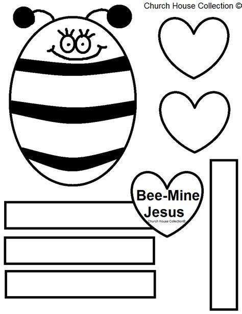bee mine card template church house collection bee mine jesus bulletin