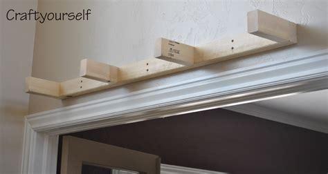 floating wood shelf craft