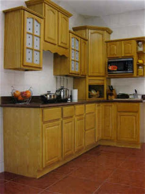 natural oak kitchen cabinets kitchen cabinet oak honey cabinets designs photos kerala