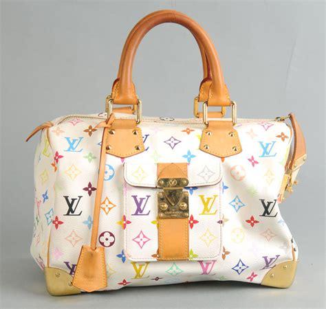 Tas Louis Vuitton Speedy Kode 40390 2 louis vuitton white monogram multicolore speedy 30 tas