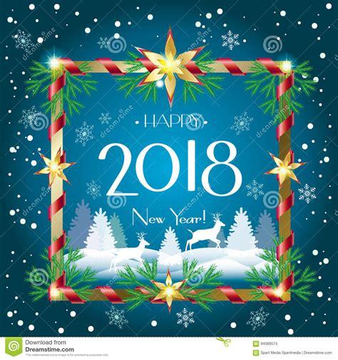 imagenes navidad 2018 la navidad 2018 ilustraci 243 n del vector ilustraci 243 n de