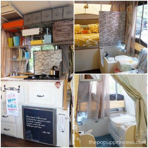 tent cers with bathrooms carolyn s pop up cer makeover cer bathroom and