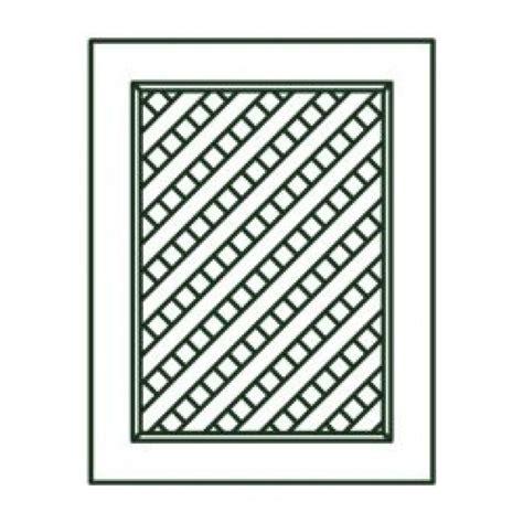 Tsg Kitchen Cabinets by Sb30 Nd Sp Gramercy White Sink Base Lattice Door Rta