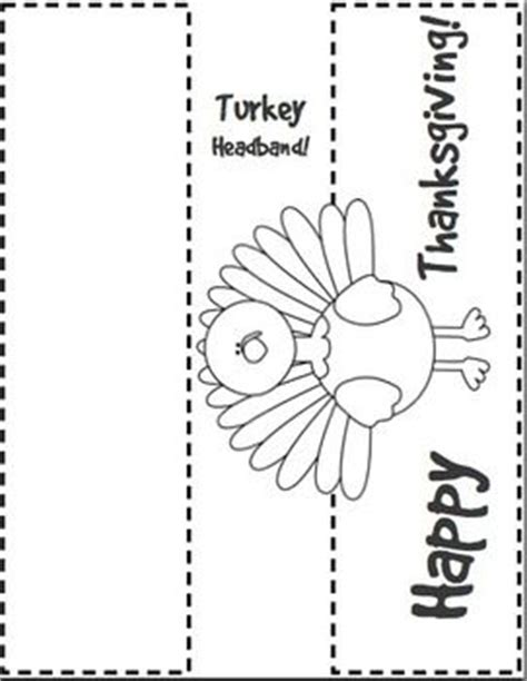printable alphabet headbands thanksgiving literacy activities for the classroom