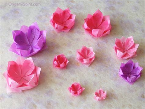 Origami Small Flower - 16 diwali crafts for children hobbycraft