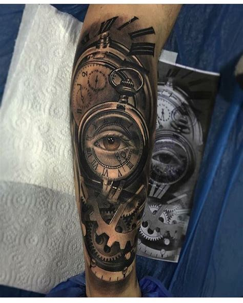pinterest tattoo clock sleeve tattoo clock eye tattoos pinterest tattoo