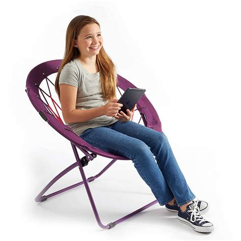Pink And Black Bungee Chair by 32 Quot Bunjo Bungee Chair Blue Camo Pink Zebra Purple