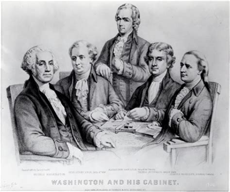 Cabinet Of George Washington by George Washington A National Treasure
