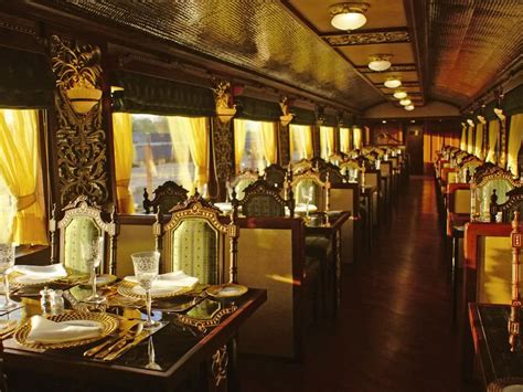 Old World Dining Room Furniture by Maharajas Express A Luxury Train In India
