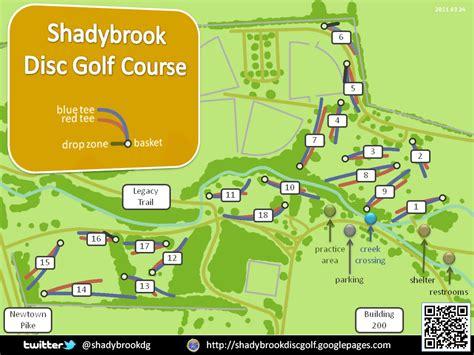 kentucky golf map shadybrook park in ky disc golf course review