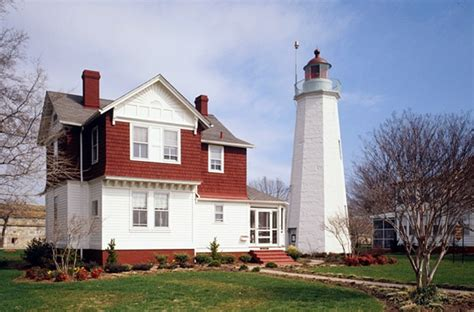 Old Point Comfort Lighthouse Virginia At