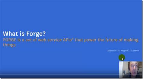 What Is Auto Desk autodesk forge what is it revit news