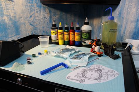 how to setup tattoo equipment tattoos piercings rayzor tattoos harrisburg central