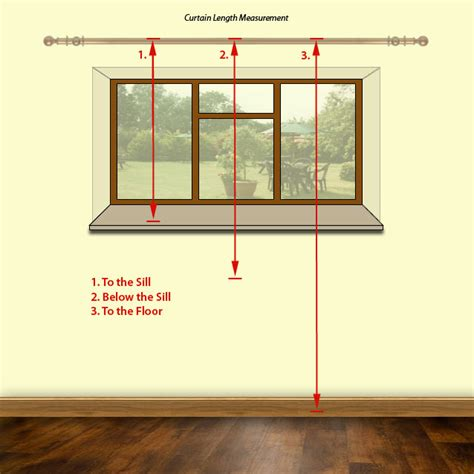 Width Of Curtains For Windows Image Detail For Sill Length Curtains Usually Finish 1 2 Inch 1 25cm Above The Sill