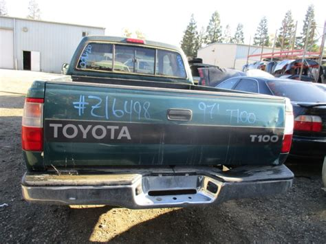 Rancho Toyota Recycling 1997 Toyota T100 Green Xtra Cab 3 4l At 2wd Z16498
