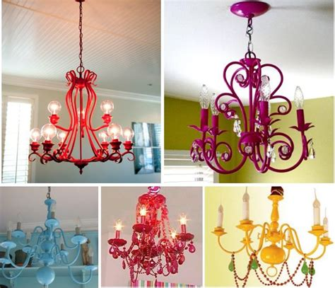 Funky Chandeliers Design Ideas 25 Best Ideas About Spray Painted Chandelier On Pinterest Paint Chandelier Painted