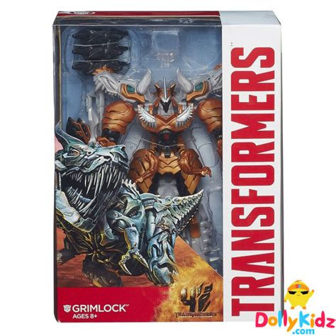 Mainan Figure jual transformers age of extinction generations voyager class grimlock figure hasbro original