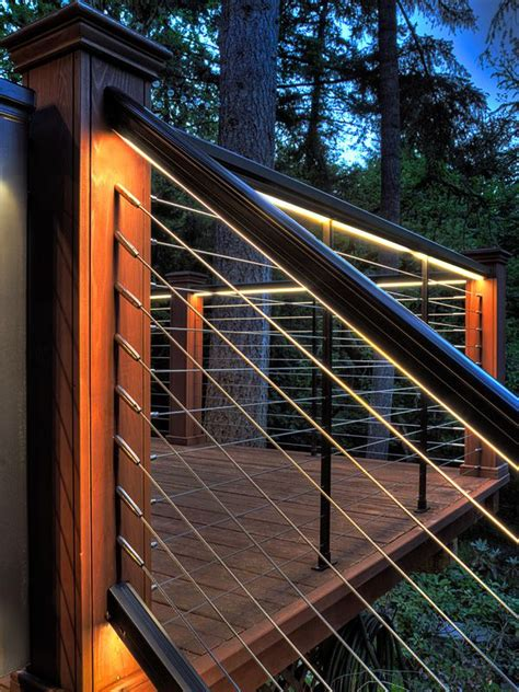 Outdoor Rail Lighting The 25 Best Outdoor Step Lights Ideas On Front House Lights Stair And Step Lights