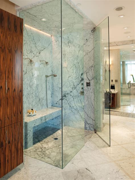 glass enclosed shower photos hgtv