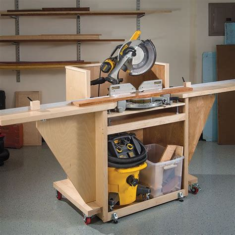 best miter saw for woodworking mobile mitersaw stand woodworking plan by woodcraft