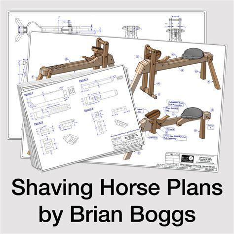 shaving bench plans pin shaving horse on pinterest