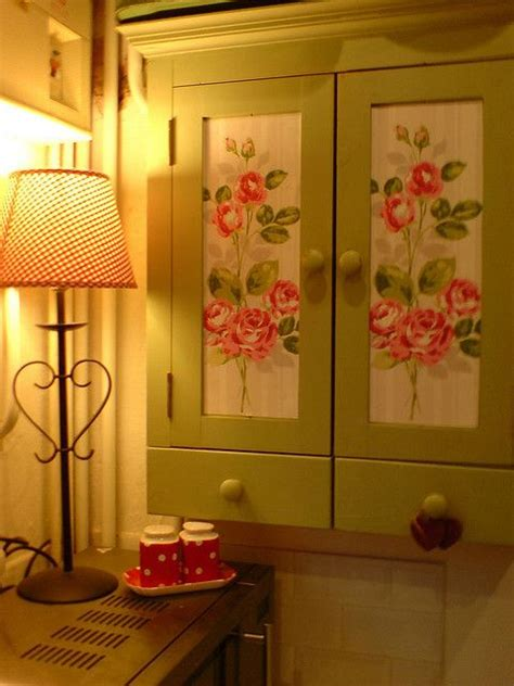 Decoupage Kitchen Cupboards - decoupage kitchen cabinet doors mf cabinets