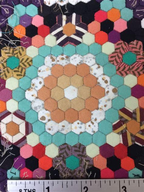 Hexagons Patchwork - 1000 ideas about hexagon patchwork on hexagon